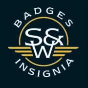 S&W logo fond noir